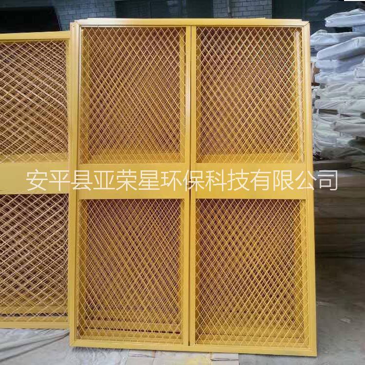 建筑施工安全门 基坑井口防护围栏