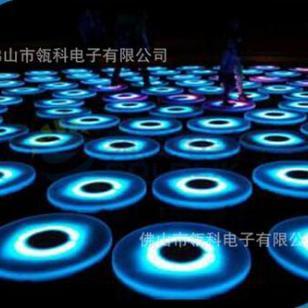 发光led地砖灯圆形感应led地砖灯互动彩虹地砖地砖灯圆形 圆形感应