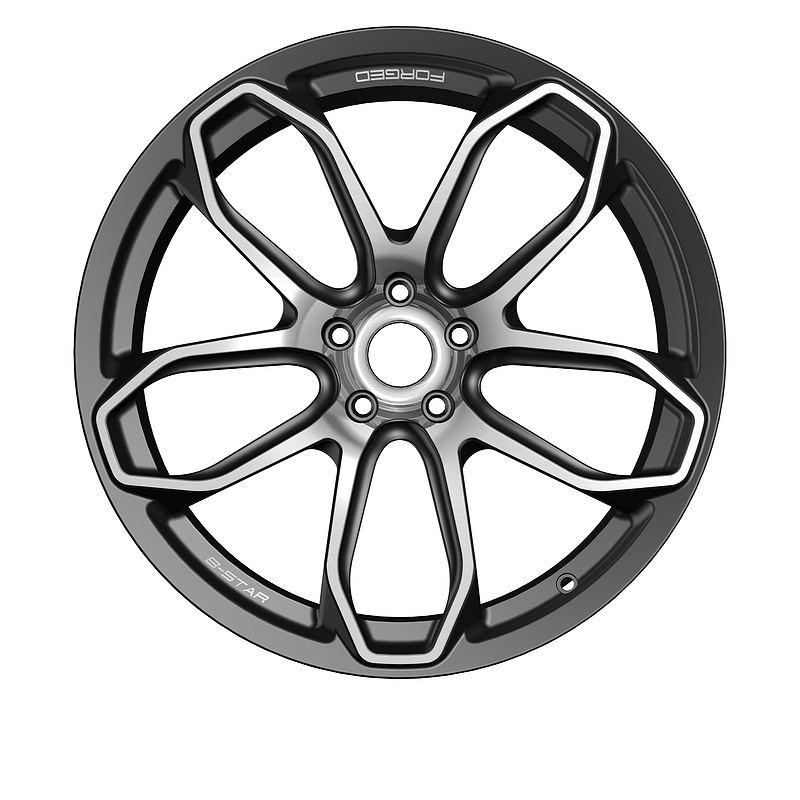 霍顿订制改装锻造铝轮毂