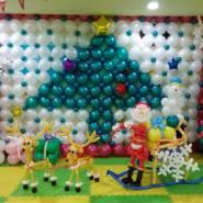 北京生日KTV气球布置,气球布置图片