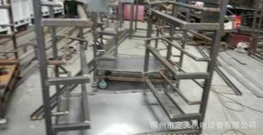厂家专业非标定制生产销售汽车料架\配件运输台车仓储笼工位器具