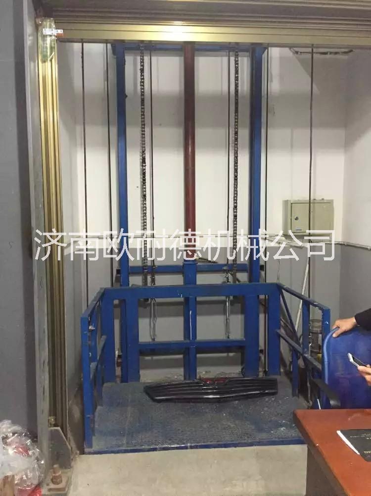 液压导轨式升降平台货梯 液压导轨式升降平台机货物装卸货梯