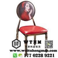 天津铁艺椅子折叠椅子 休闲铁艺椅子