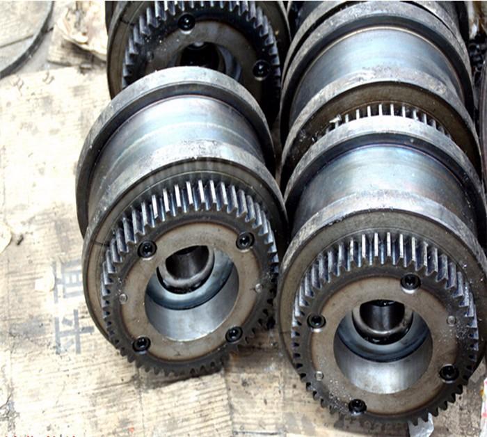 供应直销单梁起重机400mm大车运行行车轮 非标行车轮组