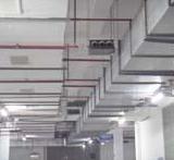 东莞黄江专业制作安装中央空调自成法兰风管.螺旋通风管