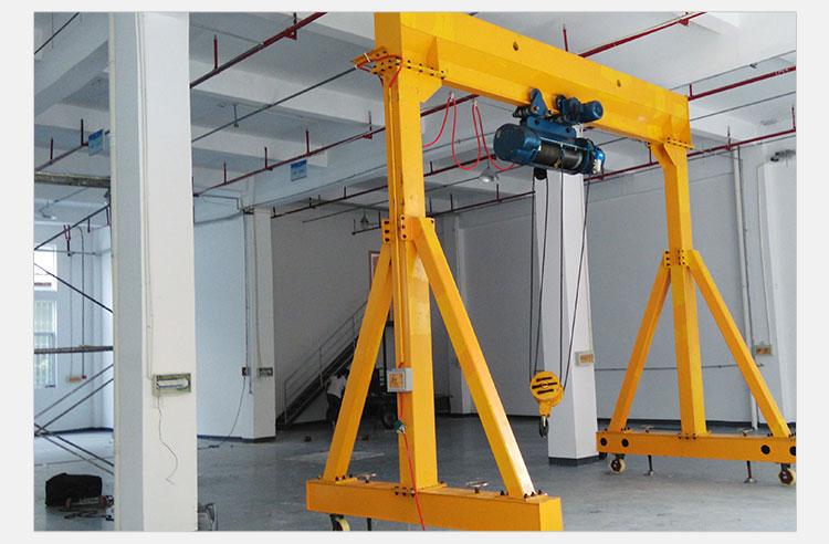 专业生产制作优质耐用3吨固定龙门架小型电动3吨固定龙门架