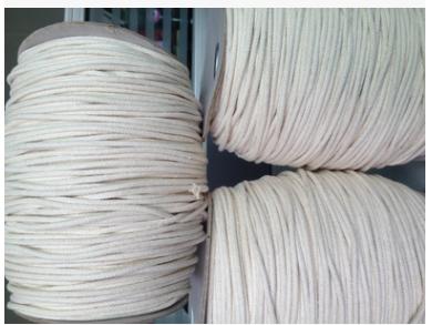 批发供应包芯棉绳球 佛山16股棉绳球生产厂家 供应服装装饰棉绳