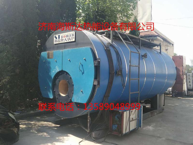 出售2009年斯大3吨燃气蒸汽锅炉