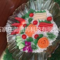 供应石家庄食品模型仿真菜样品菜 刺身拼盘三文鱼拼盘高仿真菜品模具