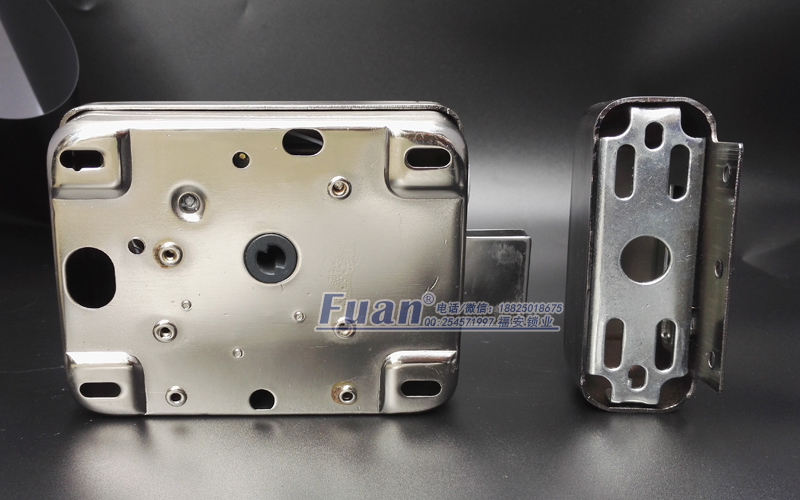 楼宇静音电机灵性锁 单/双头静音电机灵性锁智能防盗遥控电子锁电控锁