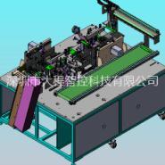 深圳电芯底部顶部贴胶机图片