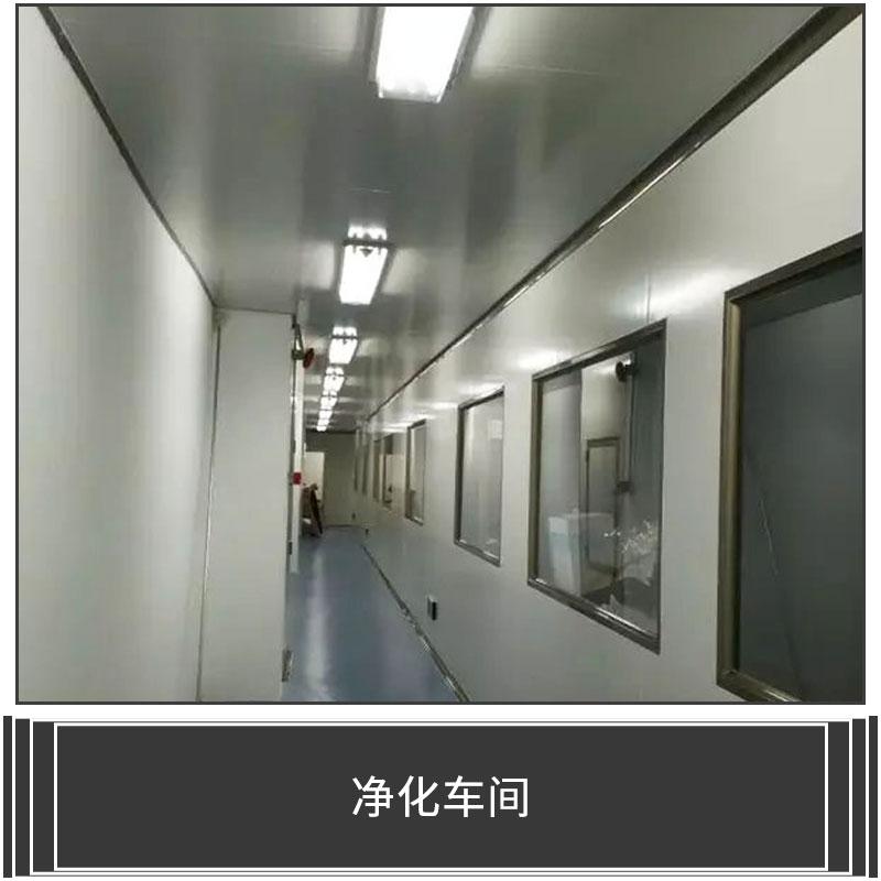 净化车间 净化工程 GMP净化车间 恒温恒湿洁净实验室 洁净厂房装修