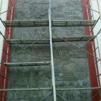 水泥仿古浮雕背景墙
