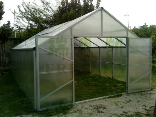 瑞思凯铝合金结构阳光温室多肉花房