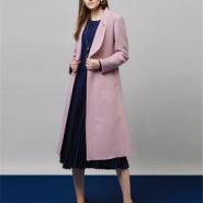 欧美潮牌双面羊绒大衣图片