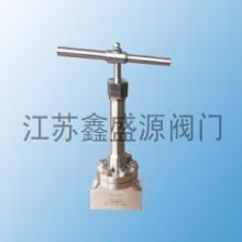 供应加气站专用高压焊接式截止阀供应商 LNG低温高压截止阀批发