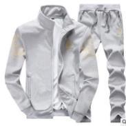 春秋韩版青少年男士运动卫衣两件套图片