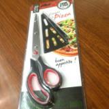 烘焙工具 不锈钢披萨剪多功能铲披萨剪刀 葱花剪厨房剪刀 不锈钢剪刀