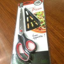 烘焙工具 不锈钢披萨剪多功能铲披萨剪刀 葱花剪厨房剪刀 不锈钢剪刀图片