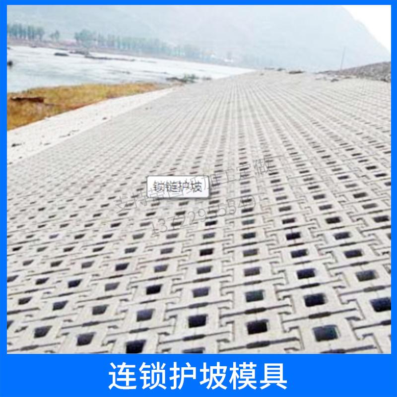 连锁护坡模具 河道护坡砖塑模 水利护坡堤坝工字护坡锁块塑料模具 欢迎来电订购