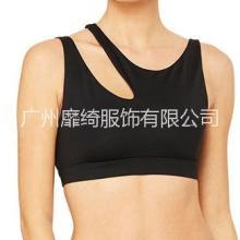 广州四针六线服装加工 运动文胸 含胸垫运动内衣 瑜伽服贴牌加工