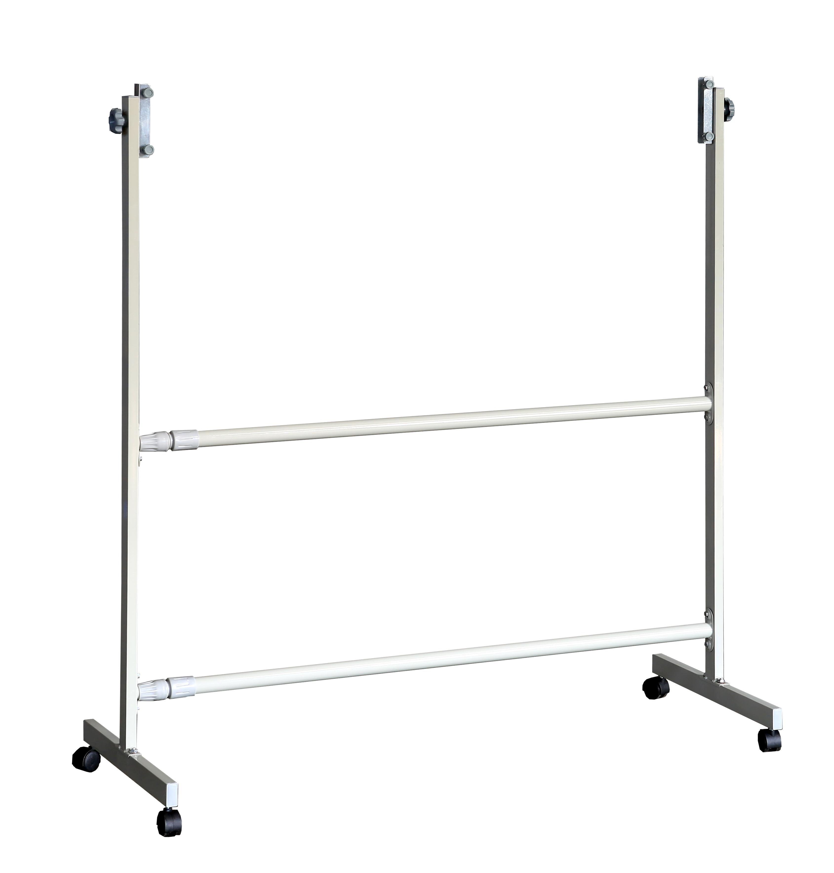 江苏白板支架供应商,车间展示用品可移动伸缩铁架