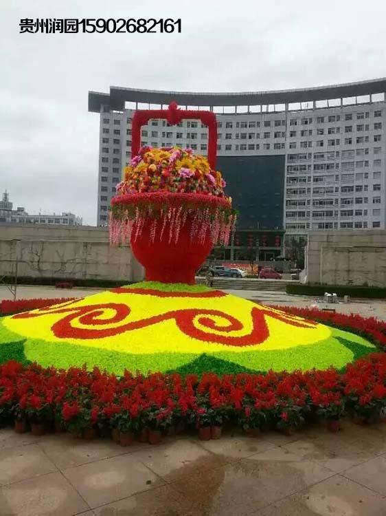 修文绿植围挡建设单位专注鲜花摆放和公园花坛设计及维护图片大全