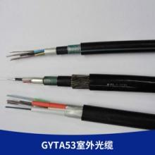 厂家直销 24芯地埋重铠光缆 双铠双护套直埋缆 GYTA53室外光缆批发