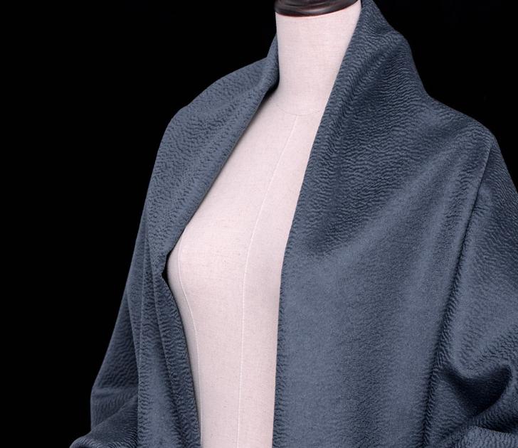 水波纹羊绒桑蚕丝羊绒羊毛纺织纱线 水波纹面料
