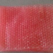 单面红色气泡袋公司图片