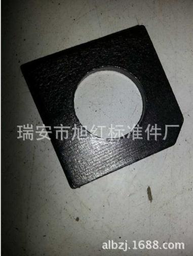 批发供应 GB/T853-1988方垫圈 槽钢用方斜垫圈 标准件