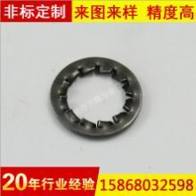 供应不锈钢内锯齿锁紧垫圈GB861.2内平齿垫片 防滑菊花介子批发