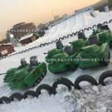 滑雪场雪地游乐坦克车出售