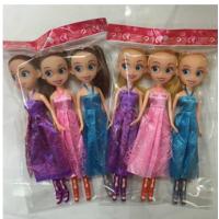 OPP袋装娃娃 索菲娅三姐妹芭芘巴比娃娃公主儿童玩具动漫公仔批发 9寸索菲亚三姐妹opp袋装