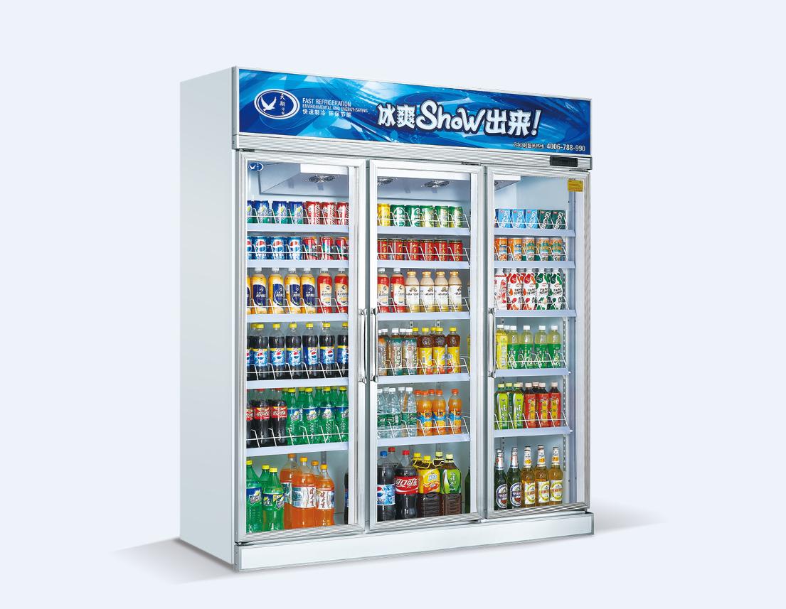 广州便利店三门展示柜图片/广州便利店三门展示柜样板图 (4)