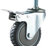 单轴丝杆刹车轮 单轴刹车脚轮厂家 单轴刹车脚轮供货商 佛山单轴刹车脚轮