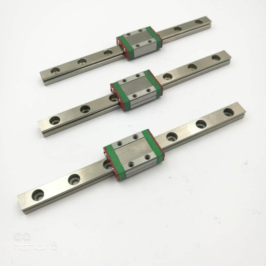深圳国产微型直线导轨12MM滑块MGN12C直线导轨生产厂家 直线导轨多少钱一米 微型直线导轨多 微型直线导轨多少钱