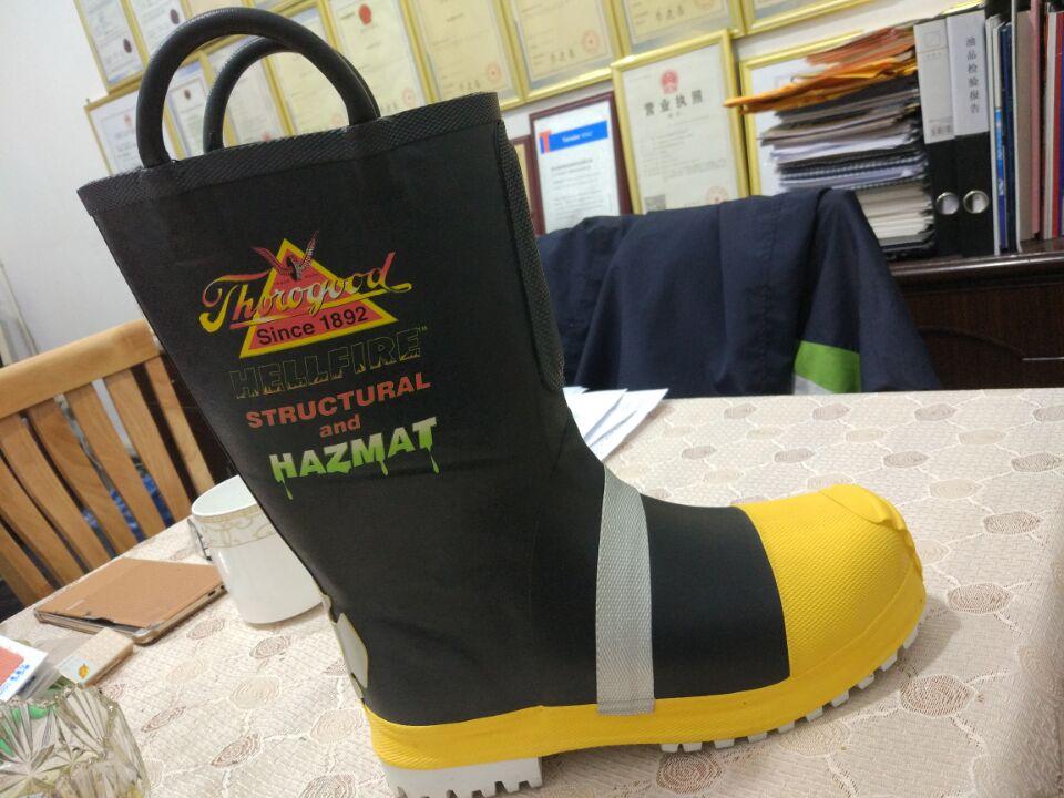 抢险消防靴 消防靴厂家批发 消防靴厂家定做 泰州公安消防靴
