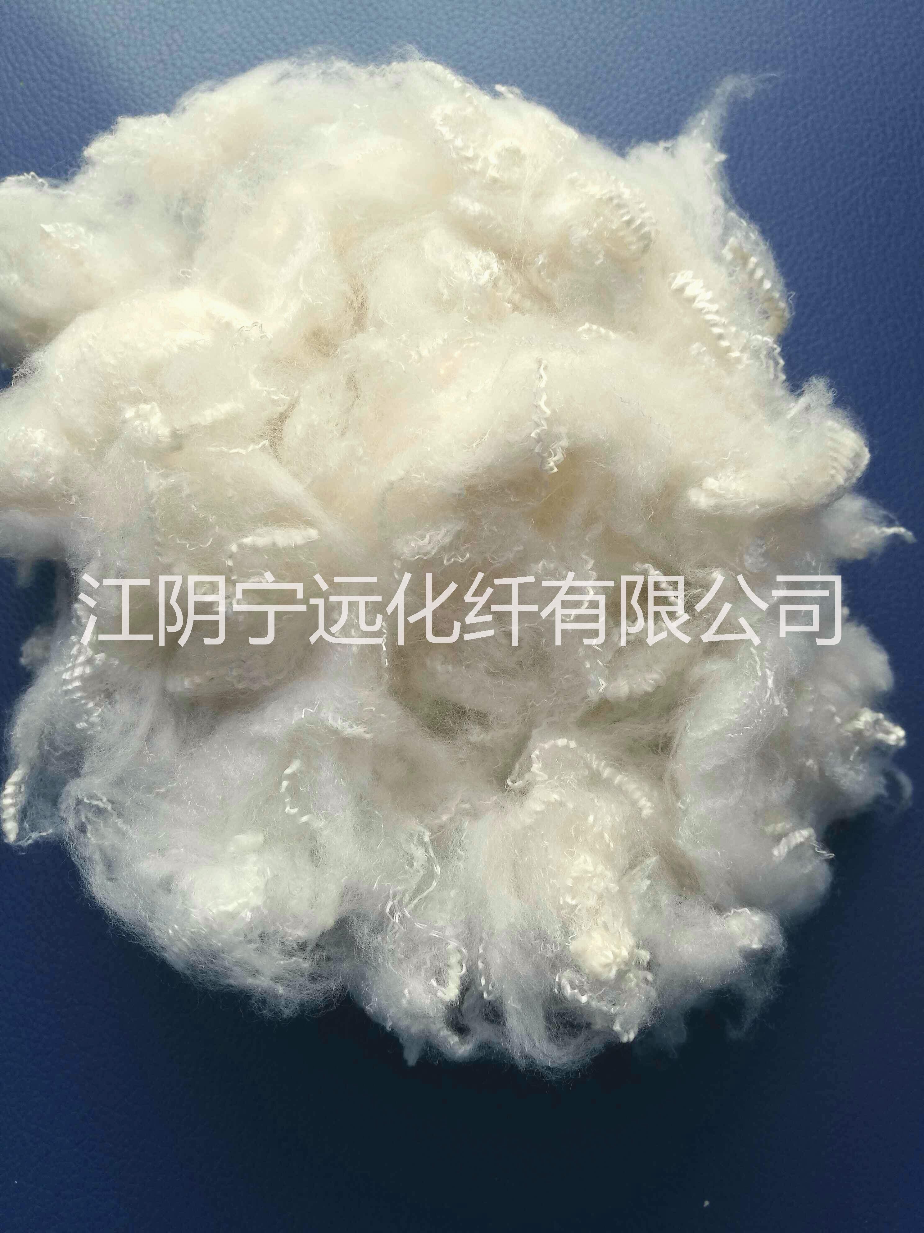 供应用于纱线|无纺布的1.5D*38本白中化涤纶短纤维