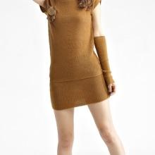 秋冬毛衣短裙针织套装 欧美通勤OL针织毛衣弹力包臀裙 秋冬针织毛衣套装批发