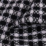 绍兴2017冬季梭织女装格子面料F06258