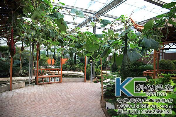 生态餐厅温室大棚造价分析