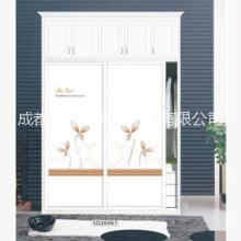 卧室推拉门 厂家批发UV彩雕木板浮雕木板高光板卧室推拉门可定制图片