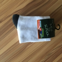 七彩全棉长袜纺织冬季长袜防臭中等款纯棉冬季休闲运动棉袜