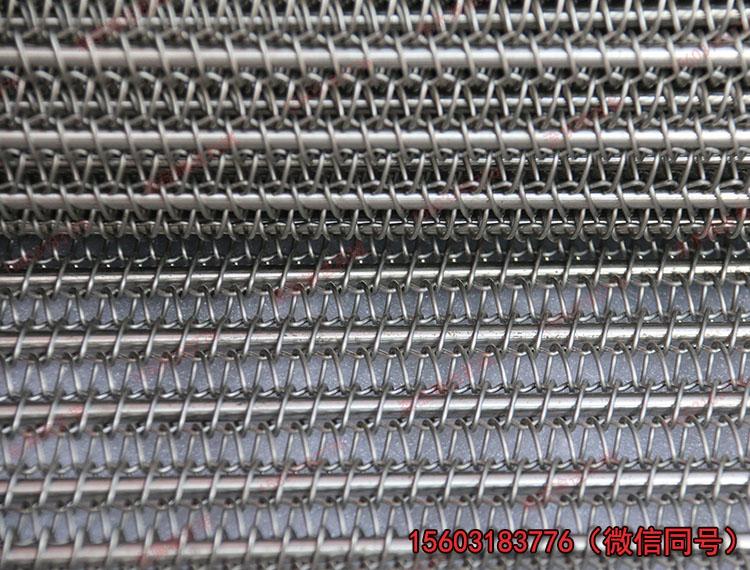 森喆专业制造涂装烘干线用不锈钢输送网链