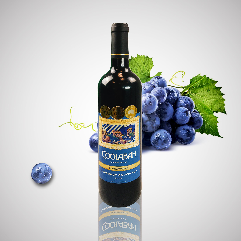 """""""考拉八""""赤霞珠红葡萄酒"""