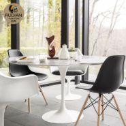 欧式天然大理石餐桌小户型图片
