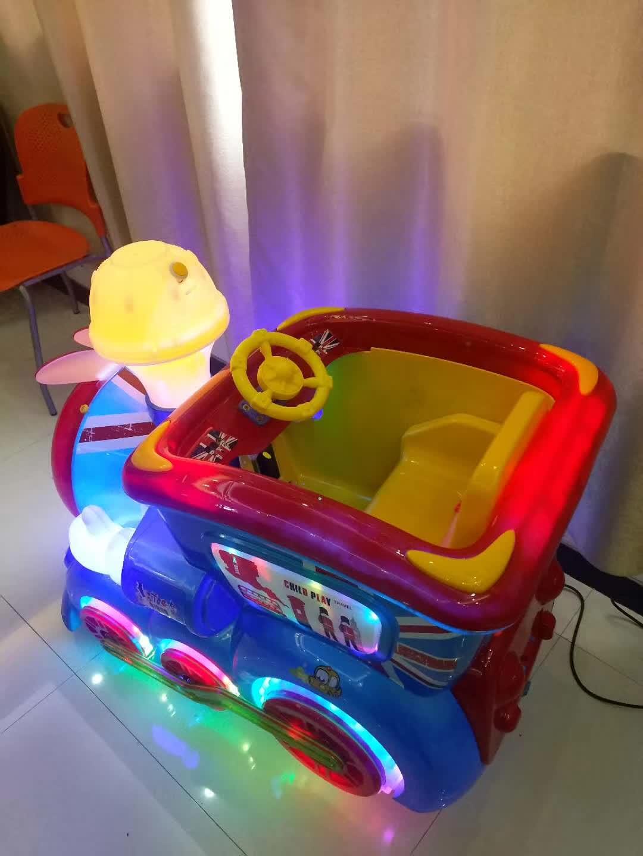 周口儿童游乐园投币式摇摇车上门设计安装游乐场淘气堡设备