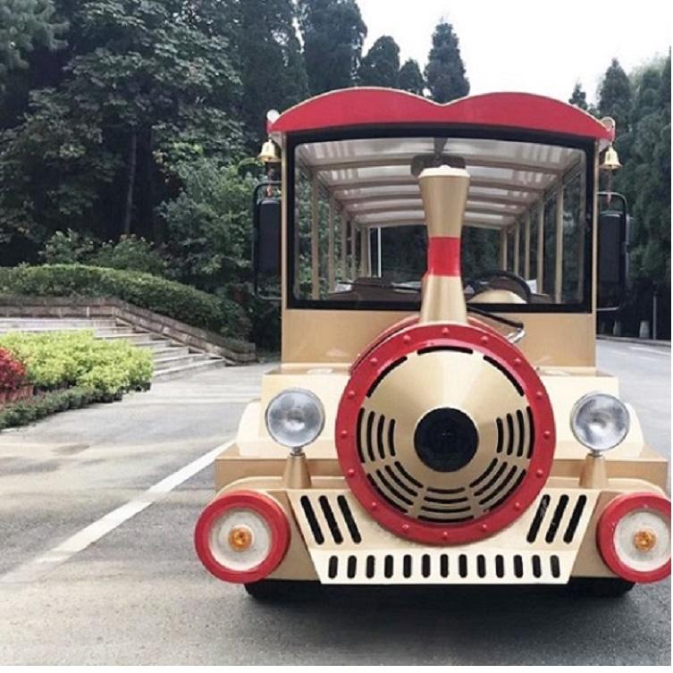 14座汽油小火车 景区旅游代步车 外观时尚独特