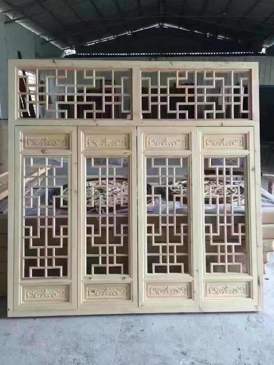 中式木门花窗_木门花窗加工询价_可外加工